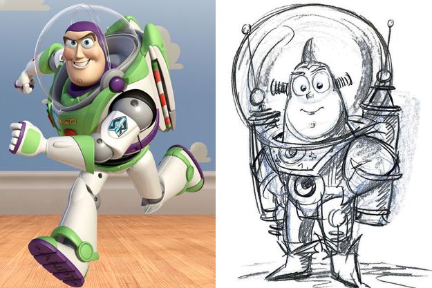 Ünlü film karakterleri son hallerine gelmeden önce bakın nasıl tasarlanmıştı?