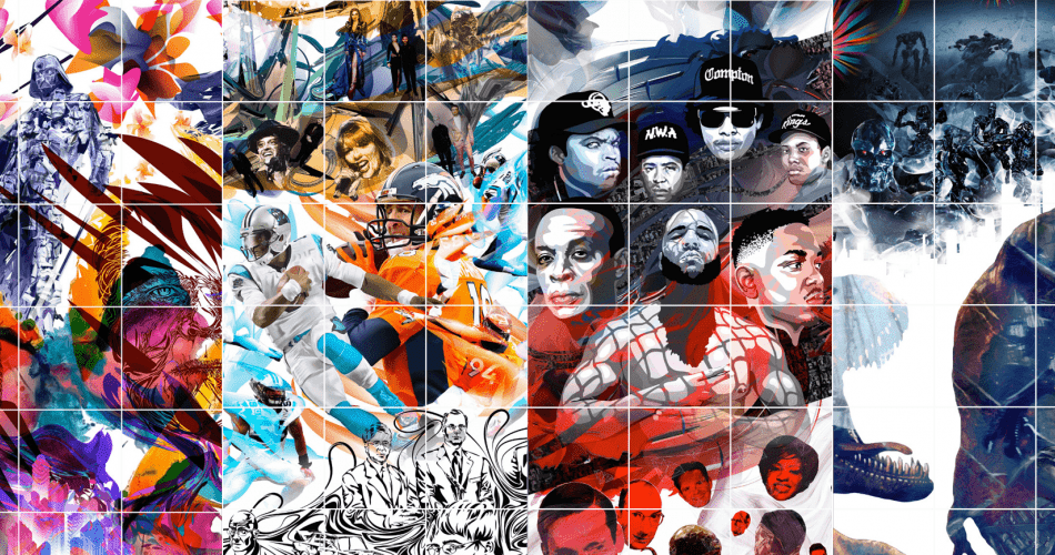 Instagram Profilini İlmek İlmek İşleyip Sanat Eserine Dönüştüren Adamın Muhteşem Çalışması