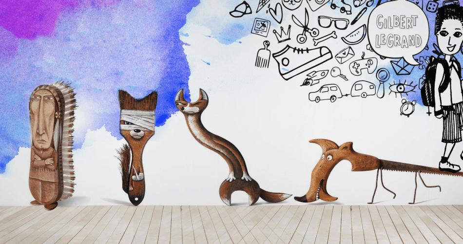 Fransız Sanatçıdan Gündelik Nesnelerin Sevimli Karakterlere Dönüşmesi