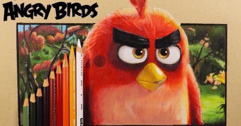 3D Angry Bird Çizimi Nasıl Yapılır?
