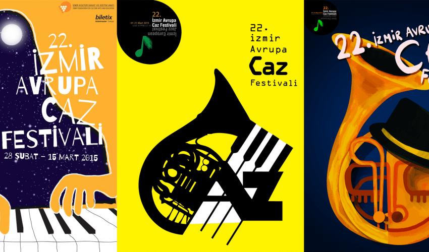 22. Uluslararası İzmir Avrupa Caz Festivali Afişi Yarışması