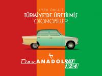 Türkiyede Üretilmiş Otomobil İllustrasyonları