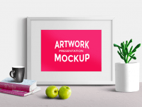 Artwork Presentation Scene Mockup