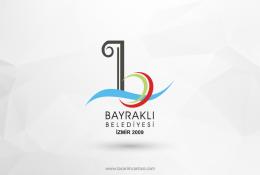 Bayraklı Belediyesi Vektörel Logosu