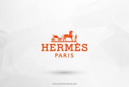 Hermes Paris Vektörel Logosu