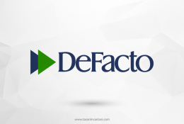 DeFacto Vektörel Logosu