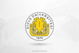 Dicle Üniversitesi Vektörel Logosu