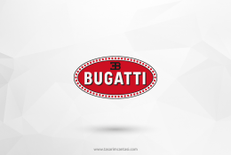 Bugatti Vektörel Logosu