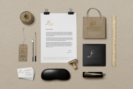 Craft Corporate Scene Mockup