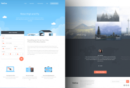 YukCus Booking Flight Template