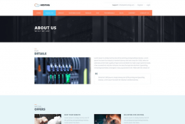Free Hosting Web Template