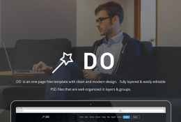DO – One Page Template