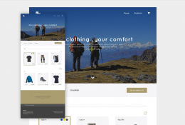 E-commerce Website Template