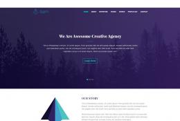 Tajam Agency Landing Page