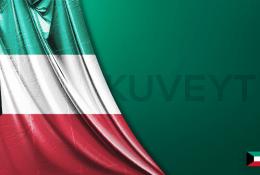 Vektörel Kuveyt Bayrağı