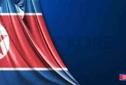 Vektörel Kuzey Kore Bayrağı