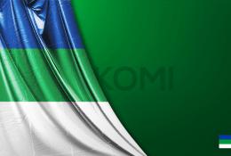 Komi Vektörel Bayrağı