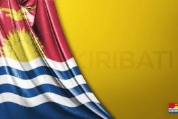 Kiribati Vektörel Bayrağı