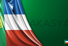 Hakasya Vektörel Bayrağı