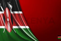 Kenya Vektörel Bayrağı