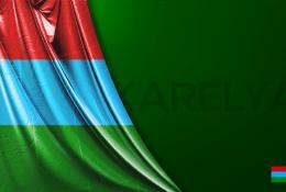 Karelya Vektörel Bayrağı