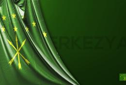 Karaçay-Çerkesya Vektörel Bayrağı