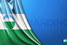 Kabardino-Balkarya Vektörel Bayrağı