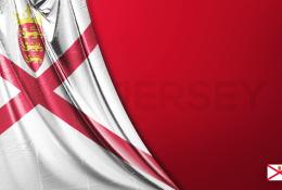 Jersey Vektörel Bayrağı