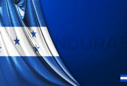 Honduras Vektörel Bayrağı