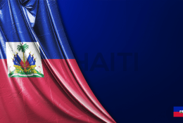 Haiti Vektörel Bayrağı