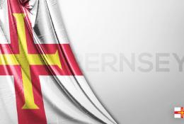 Guernsey Vektörel Bayrağı