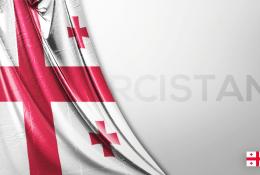 Gürcistan Vektörel Bayrağı