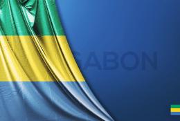 Gabon Vektörel Bayrağı