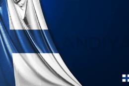 Finlandiya Vektörel Bayrağı
