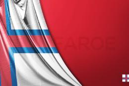 Faroe Adaları Vektörel Bayrağı