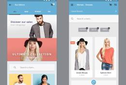Materia eCommerce App Design
