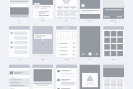 App Wireframe Kit