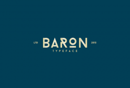 Baron Neue Font