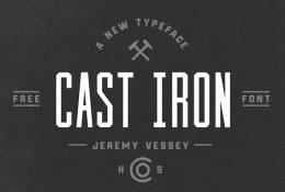 Cast İron Font