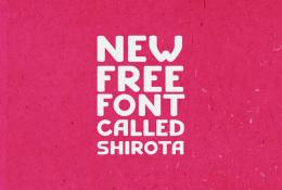 Shirota Font