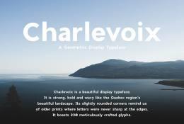 Charlevoix Font