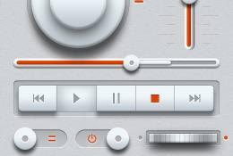 Hafif Müzik UI Tasarım Seti