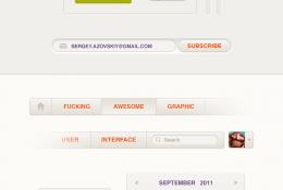 Krem Web Arayüz Kiti