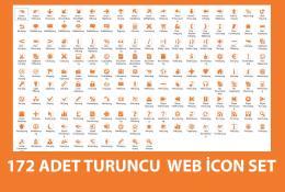 172 Ader Turuncu Web İcon Seti-PNG