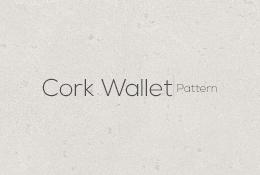 Cork Wallet Pattern