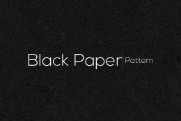 Black Paper Pattern