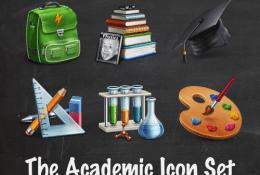 psd Akademik Simge iconları
