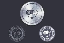 psd Metal Etiket iconu