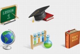 akademik icon seti