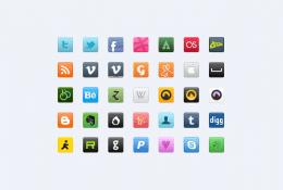 Sosyal Medya İkon Seti Vol 2